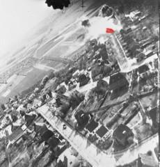 Fra et af de allierede fly