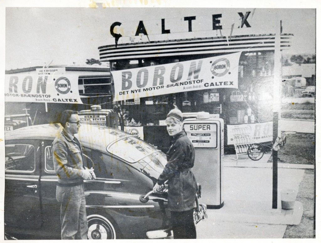 Caltex. Omkring 1964.