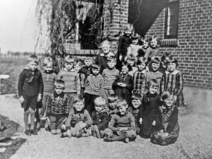 Skolen i Skellet ca 1925